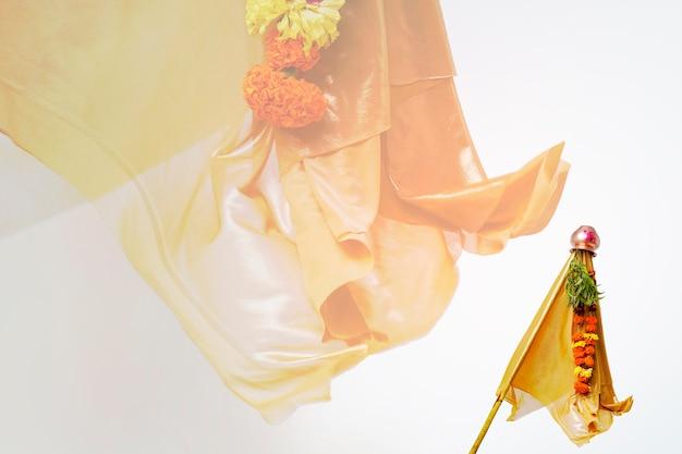 Indisches festival, gudi padwa marathi neujahr