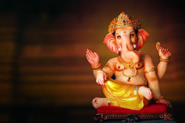 Indisches ganesha festival, lord ganesha