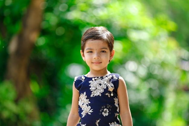 Indisches kindermädchen