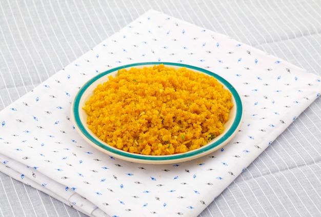Indisches spezielles süßes lebensmittel halwa