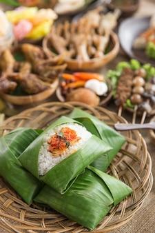 Indonesisches traditionelles essen aus zentral-java
