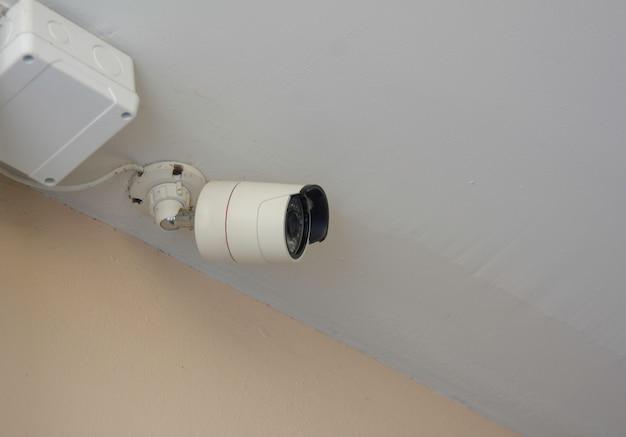 Indoor cctv, ip-kamera im gebäude