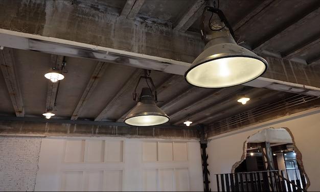 Industrial loft cafe & studio
