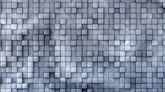 Industrie-, stein-, textur-grunge-hintergrund mit geometrie. 3d-illustration, 3d-rendering.