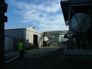Industrieanlage service-techniker