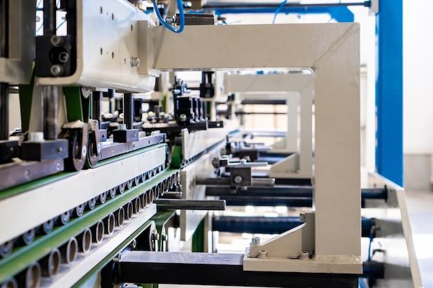 Industrielle handelsumschlagherstellung maschinenherstellung von umschlägen maschinenbauproduktion