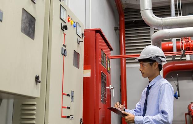 Industrielles brandschutzsystem, brandmelder, brandmelder, brandschutz.