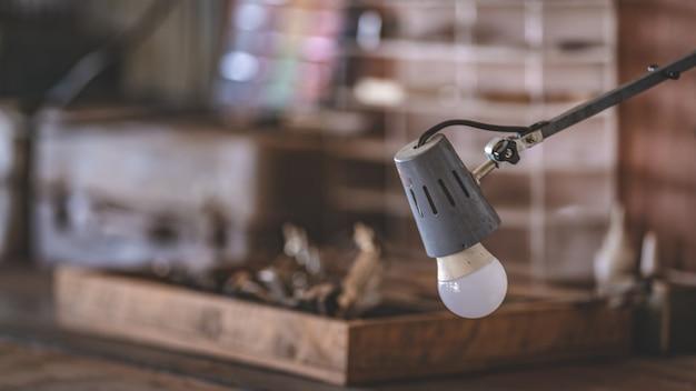 Industrielles lampenlicht