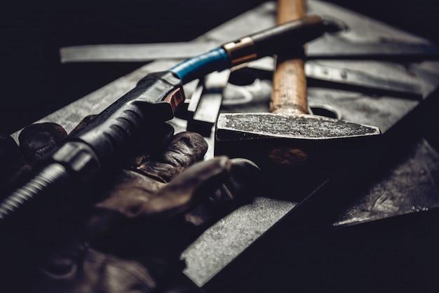 Industrielles schweißwerkzeug