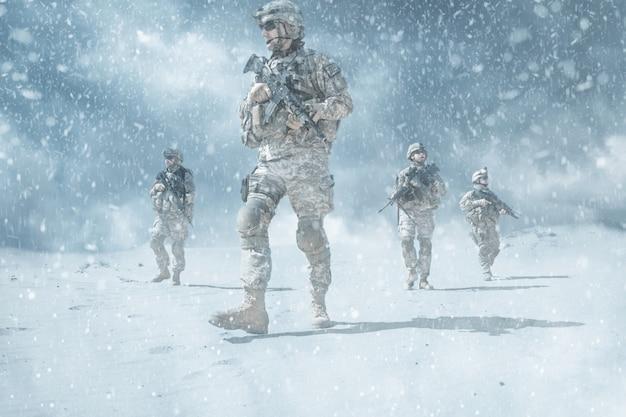 Infanteristen in aktion