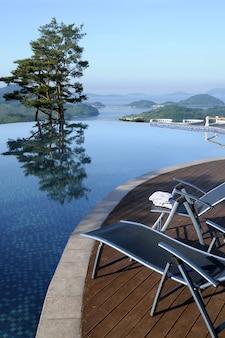 Infinity-pool des spa resort hotels