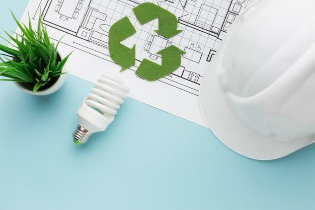 Ingenieurplan für ökologie