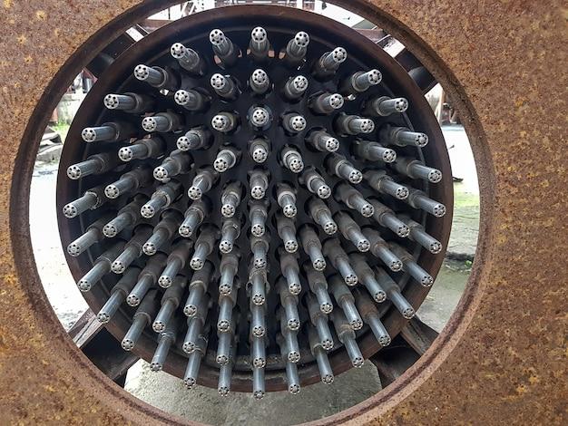 Injektoren in einem industriemischer zum mischen von gasen und flüssigkeiten