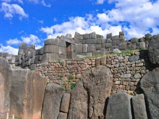 Inka-ruinen foto foto