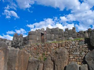 Inka-ruinen foto