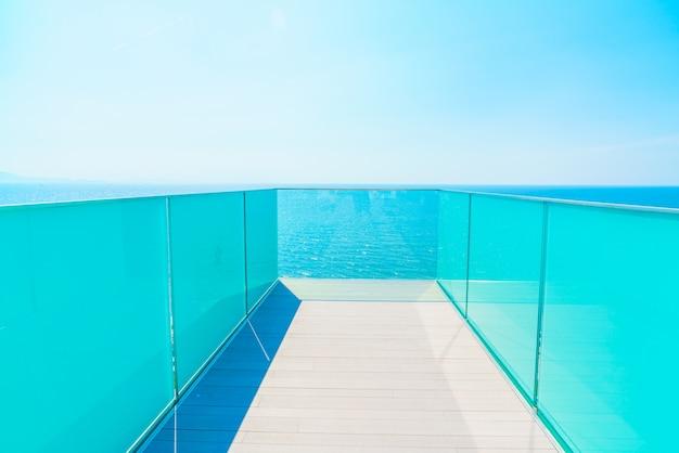 Innen haus terrasse balkon holz