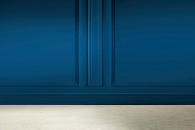 Innenarchitektur des leeren modernen luxusraums