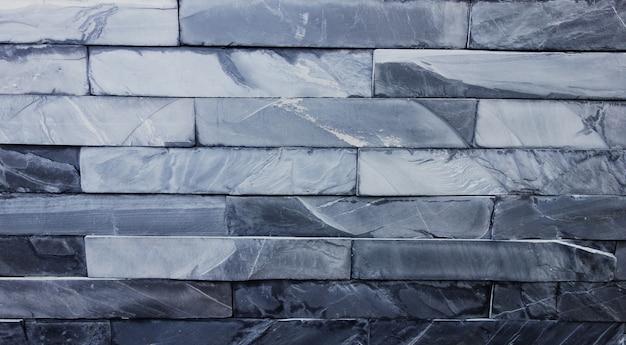 Inneneinrichtung mit blauem backsteinmauerhintergrund, für produktanzeige.