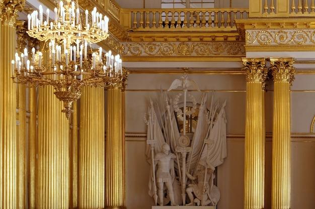 Innenräume der staatlichen eremitage sankt petersburg russland