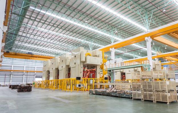 Innenraum der produktionsfabrik