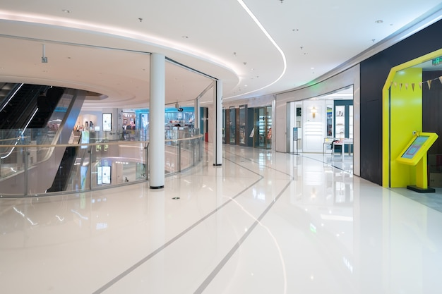 Innenraum des kaufhauses