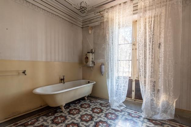 Innenraum eines luxuriösen und alten herrenhauses