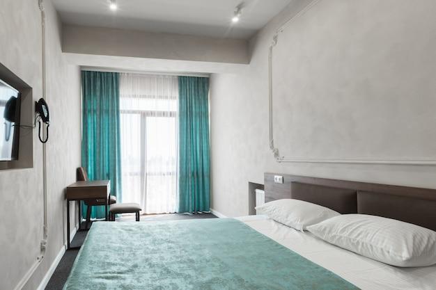 Innenraum eines modernen neuen luxushotels