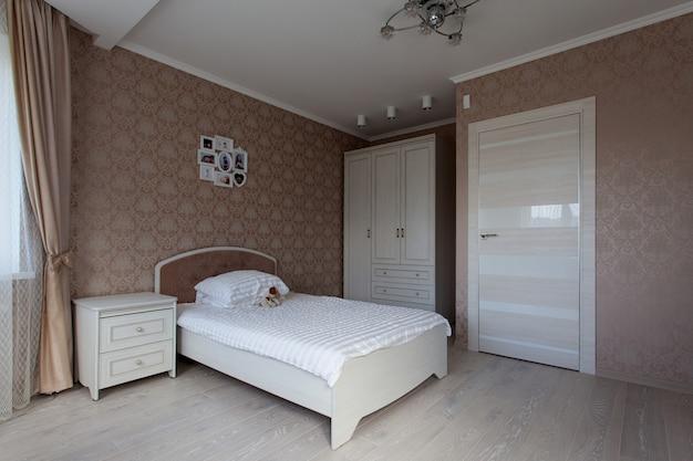 Innenraum eines schlafzimmers