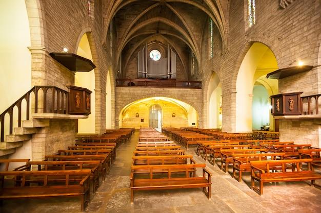 Innenraum von sants maria del turers
