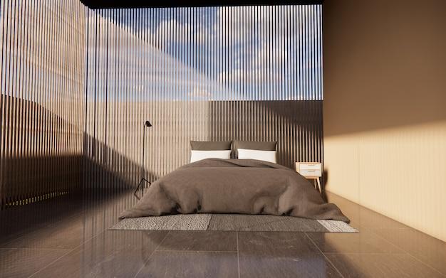 Innenschlafzimmer mit leichter belüftung