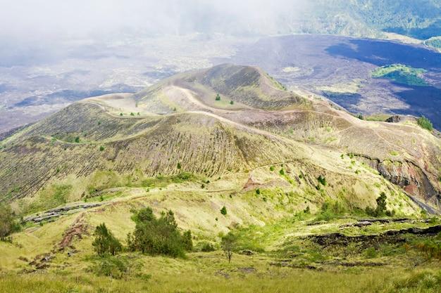 Innerhalb des vulkans