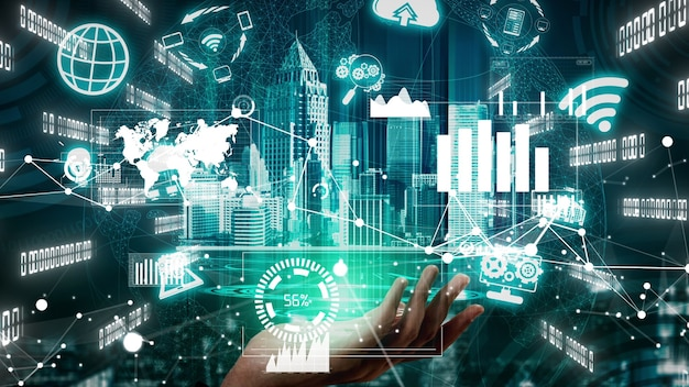 Innovationstechnologie für business finance konzeptionell