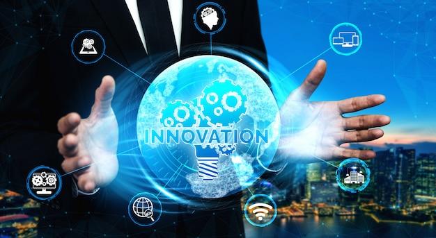 Innovationstechnologie für das business finance-konzept