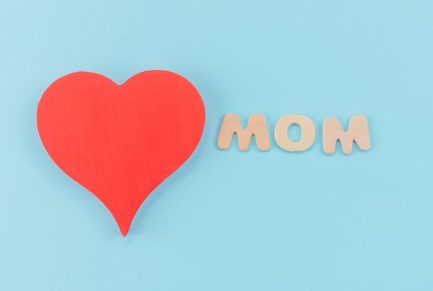 Inschrift liebe mama