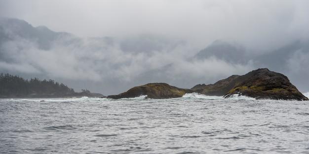 Insel im pazifischen ozean, regionalbezirk skeena-queen charlotte, haida gwaii, graham island, b
