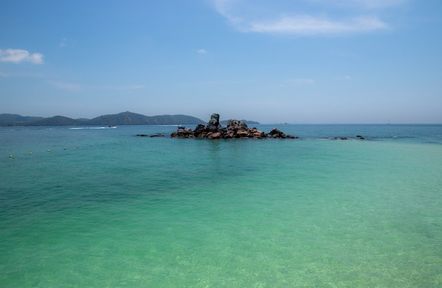 Insel khai nok, khai-insel in der phangnga-touristenattraktion