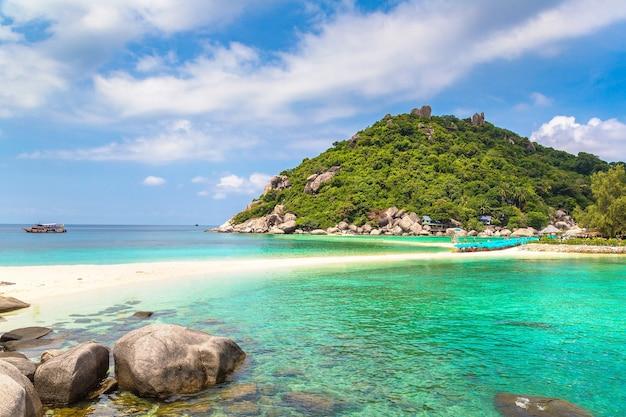 Insel nang yuan, koh tao, thailand