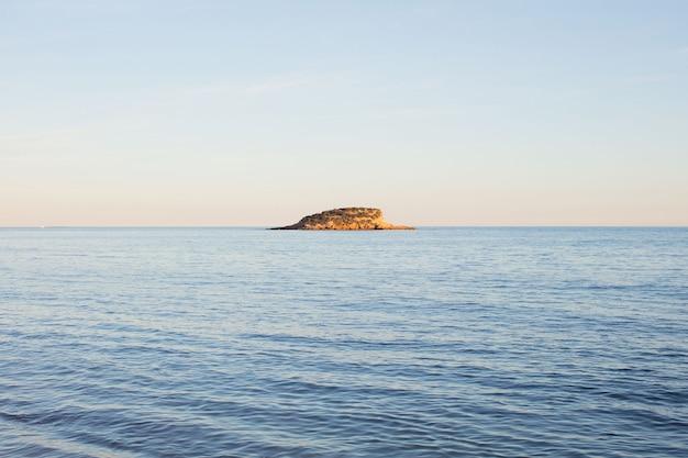 Inselmeer landschaft hintergrund