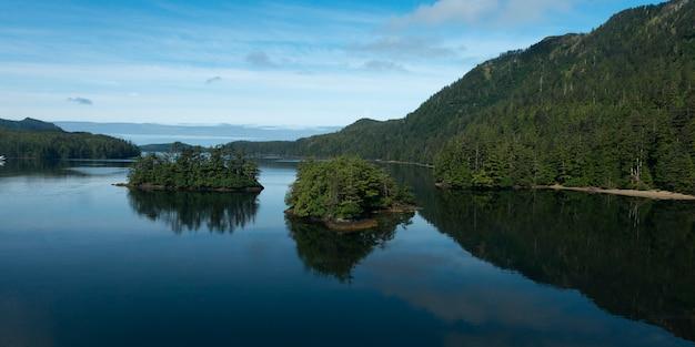 Inseln im pazifischen ozean, skeena-queen charlotte regionalbezirk, haida gwaii, graham island,