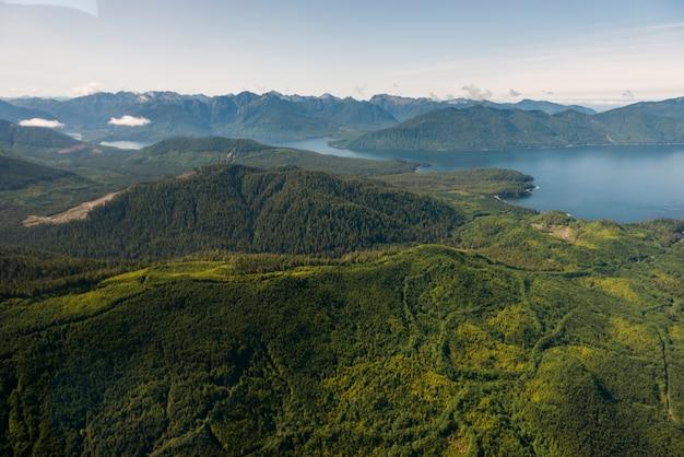 Inseln im regionalbezirk skeena-queen charlotte, haida gwaii, graham island, britisch-kolumbien, c
