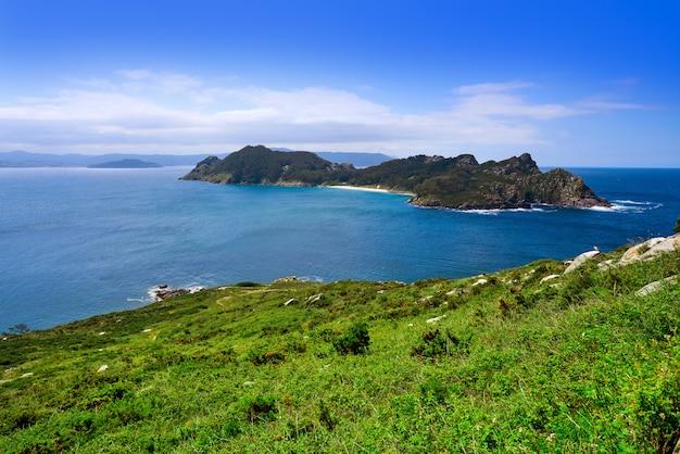Inseln islas cies-inseln san martino in vigo galicia