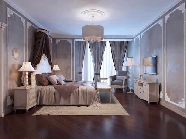 Inspiration für ein luxuriöses hotelzimmer