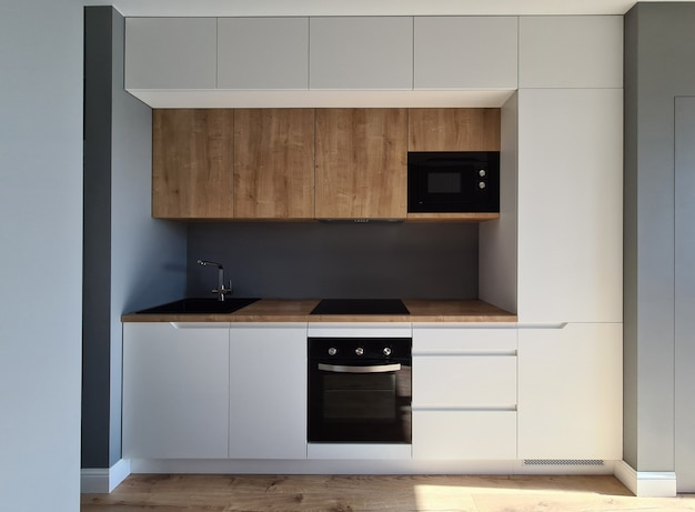 Installation einbaumöbel und verkabelung küche