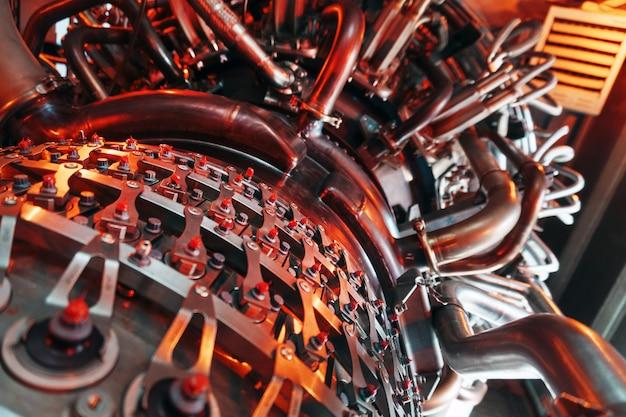 Installation von gasturbinenturbinen in kraftwerken