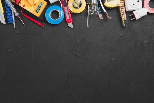 Instrumente für die elektrische reparatur