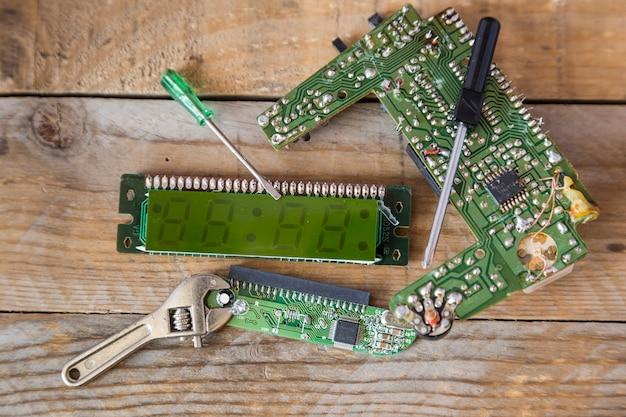 Integrierte schaltung eines computers
