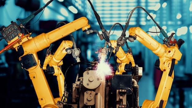 Intelligente modernisierung von industrieroboterarmen für innovative werkstechnologie