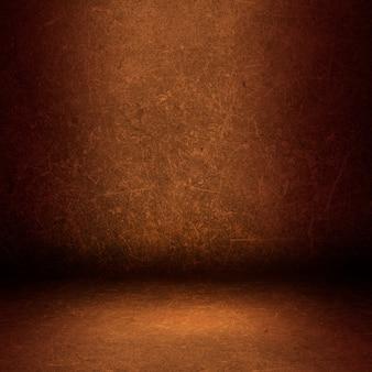 Interior hintergrund mit einem grunge wand und boden