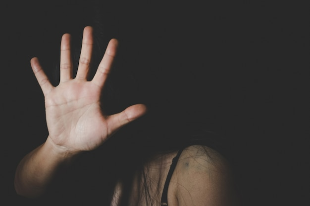 Internationaler frauentag, stoppt sexuellen missbrauch, stoppt gewalt gegen frauen
