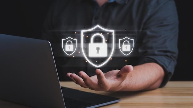 Internet-cyber-firewall-sicherheitskonzept